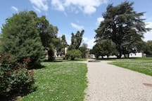 giardino di Villa Bottini