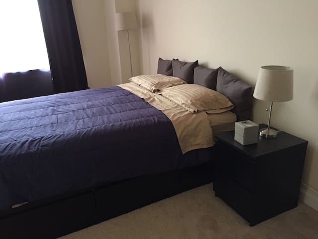 Private Rm, In-Suite Bthrm  in 2BR Condo on 5th Fl