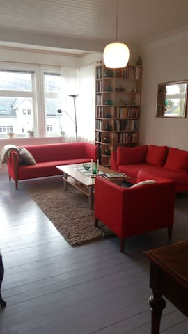 Large and inviting apartment, centrally located