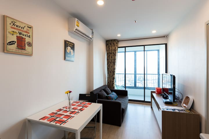 Next to BTS wt 5 stars facilities - Bangkok - Appartement