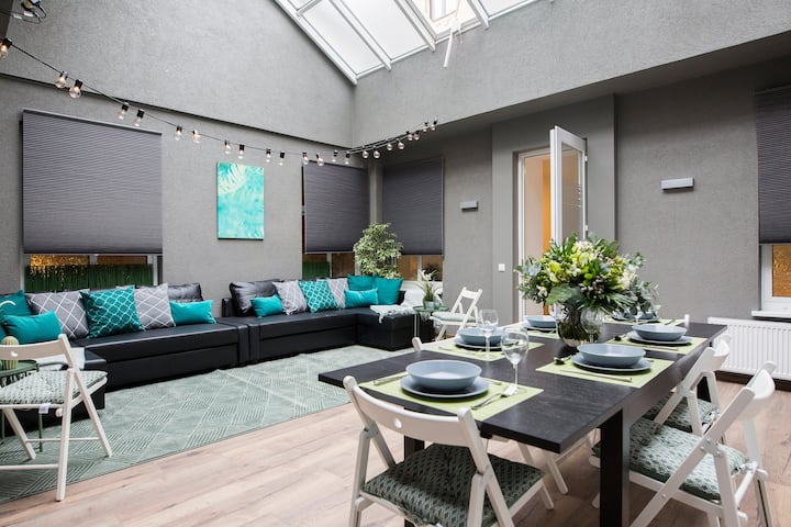 ❤️Large Sunny Dining Area, New Apartment 74m²