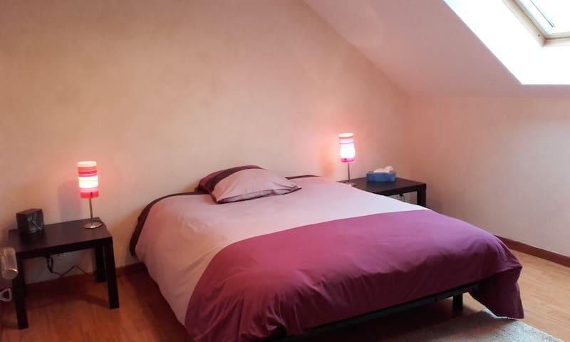 2 Chambres tt confort calme absolu à 2' de l'A714 - Saint-Angel