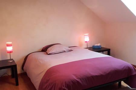 2 Chambres tt confort calme absolu à 2' de l'A714