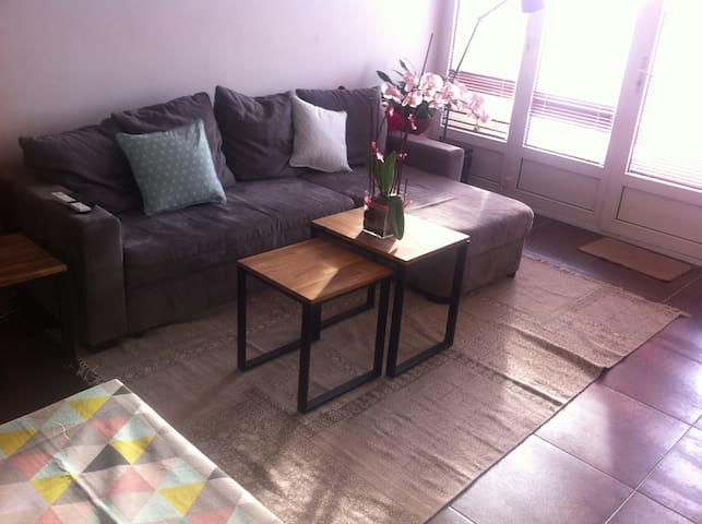 Apartement + sunny balcony - Amiens - Wohnung