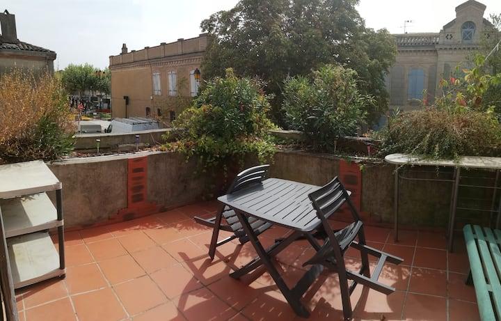 Appartement T2 fonctionnel avec belle terrasse