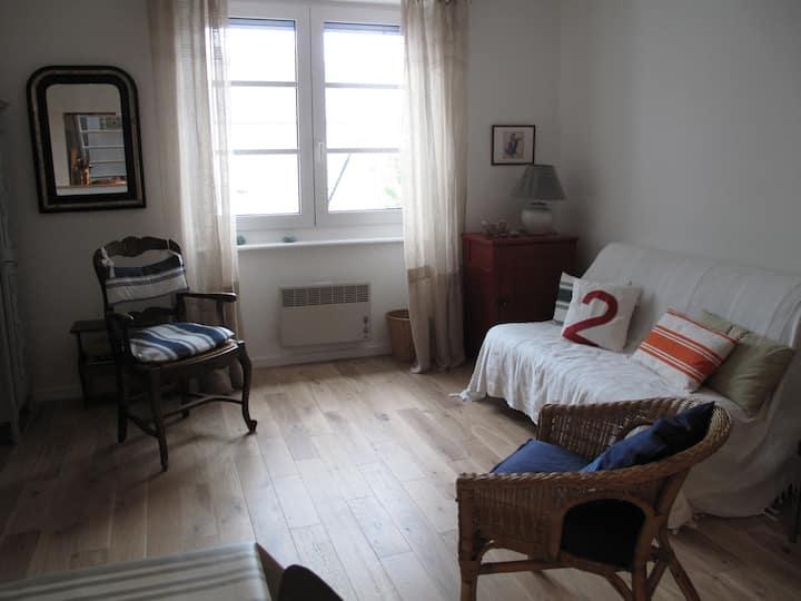 Studio en duplex avec chambre indépendante