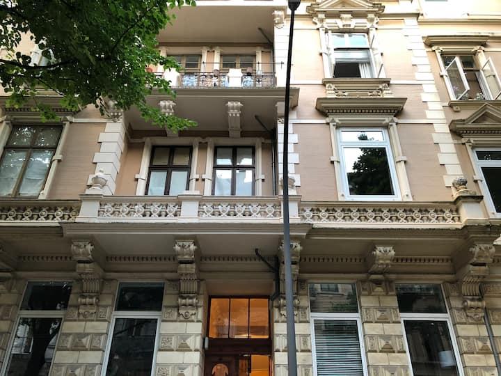 Stylisches 1 Zimmer Studio Apartment im Grindel