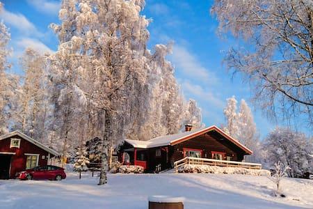 Large log cabin Siljansnäs - Leksand NV - Mökki