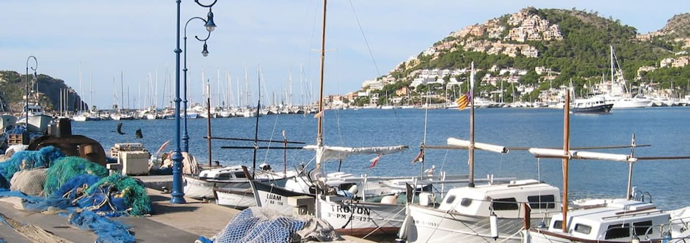 Port Andratx fishing boats.