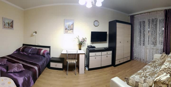 Уютная 1 к. квартира в историческом центре города.