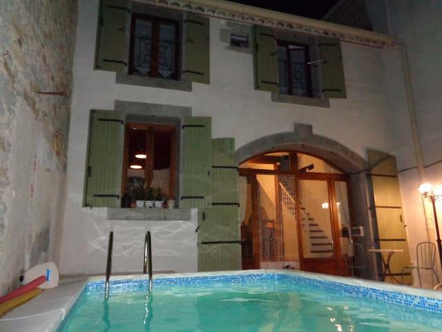 Maison de la Cour - Cesseras - Haus
