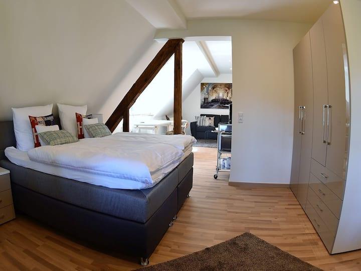 Hotel Tannenhof, (Baden-Baden), Apartement, 33qm, 1 Schlafzimmer, max. 4 Personen