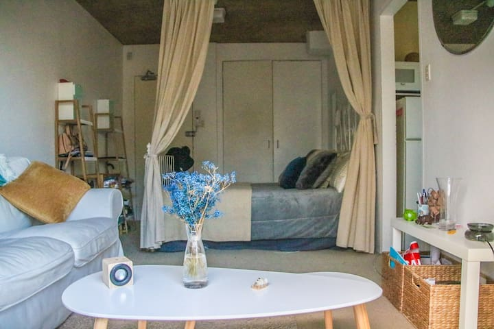 Furnished studio with balcony (10 min from CBD) - Glebe - Loft