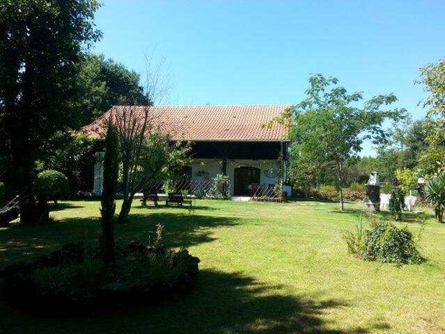 Maison 3*, jardin, Océan, lac, en lisière forêt - Ychoux - Hus