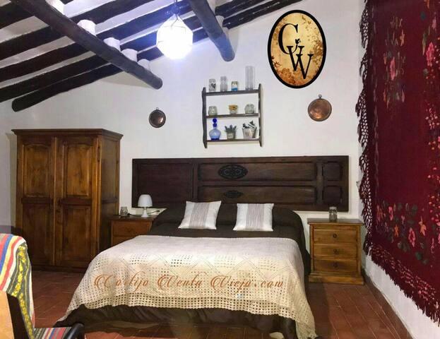 Habitación de matrimonio en cortijo siglo XVII