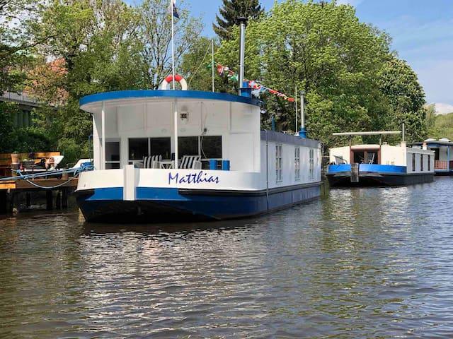 """Hausboot """"Matthias"""""""