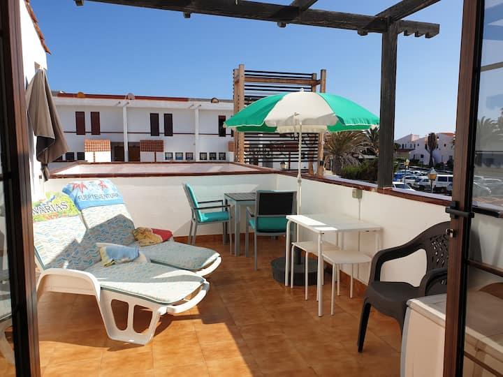 Central location, sunny balcony, near to beach,