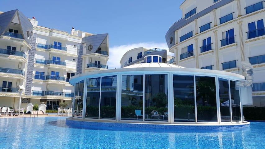 Аренда апартов в Анталии, комплекс Melda Palace - Konyaaltı - Mobilyalı daire