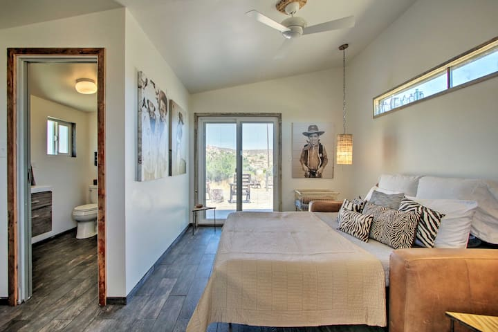 Book this desert escape for 2, just minutes from Joshua Tree!