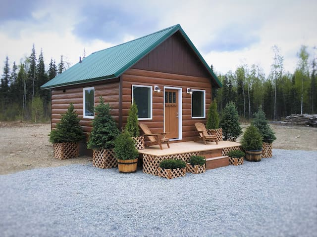 Stay in Alaska's 1st Luxury Container Cabin!