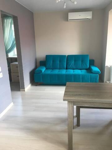 Квартира с новым дизайнерским ремонтом