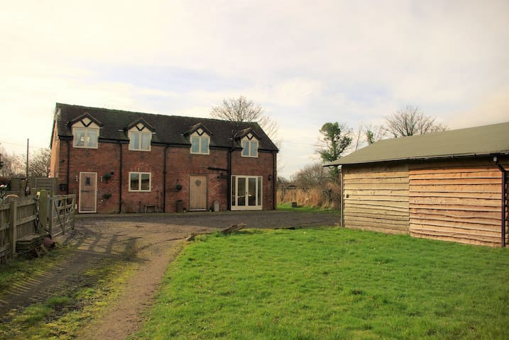 Pinfold Barn luxury detached, 3 bed former barn - Nantwich - บ้าน