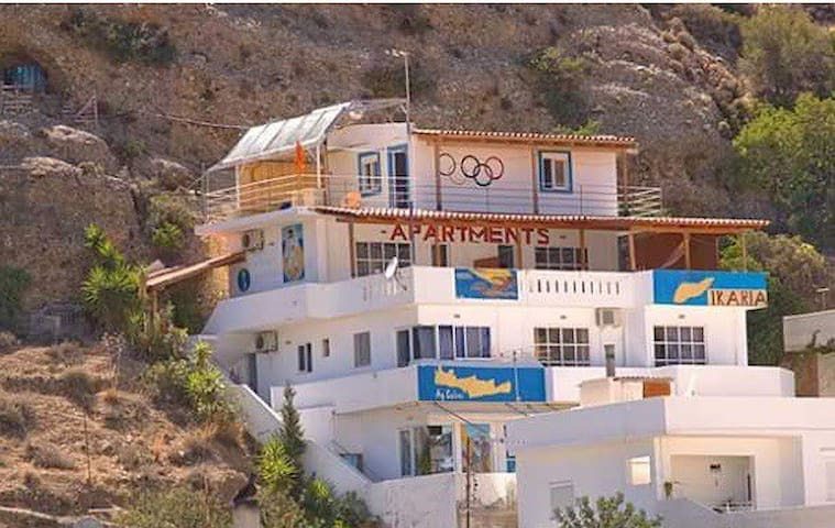APARTMENTS IKARIA  SERENITY  Self-contained studio with panoramic terrace