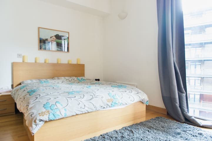 Modern Double Room by Olympic Park