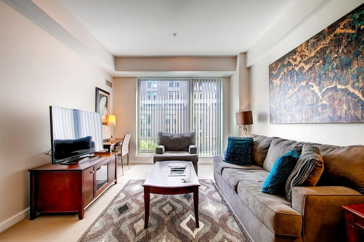 Ultra Lux West End Medical 1BR Apt at Mass General