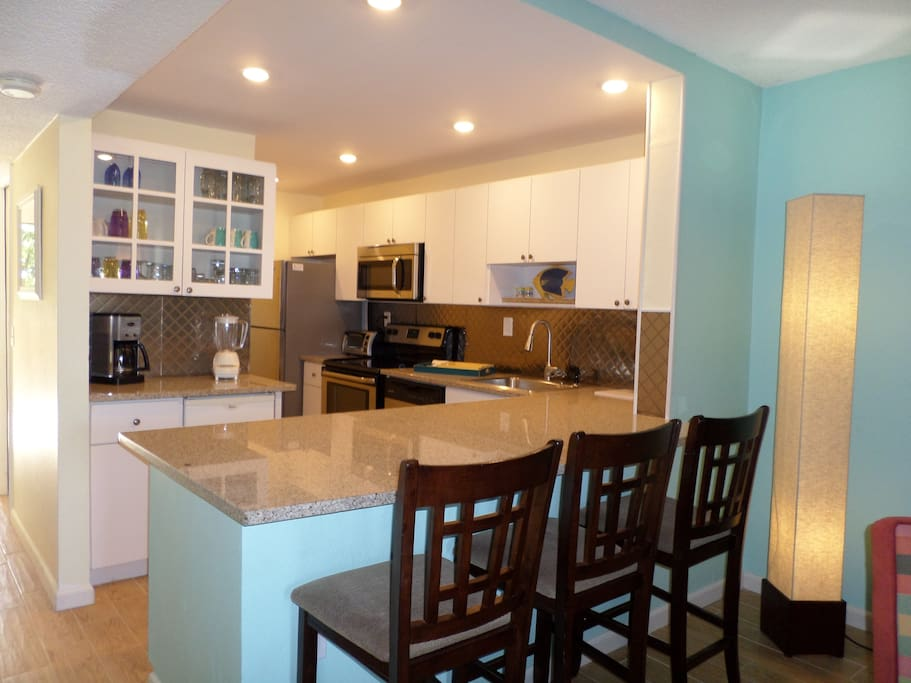 Newly Redesigned Kitchen