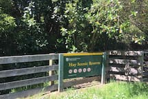 Hays Reserve - native bush walk for all ages - 900m loop. 2kms from the chalet. Dander round once or run multiple times!
