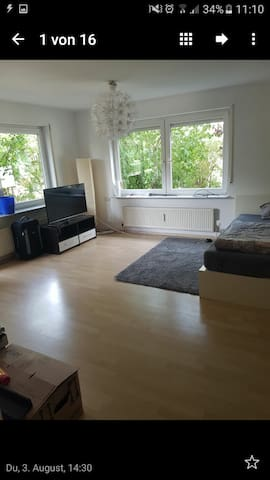 Großzügige 1 Zimmer Wohnung - Filderstadt - Apartamento