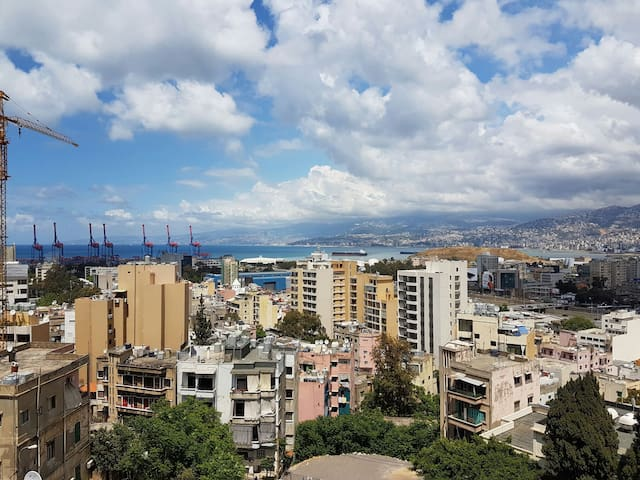Sweet view from hilly Geitawi - Beirut