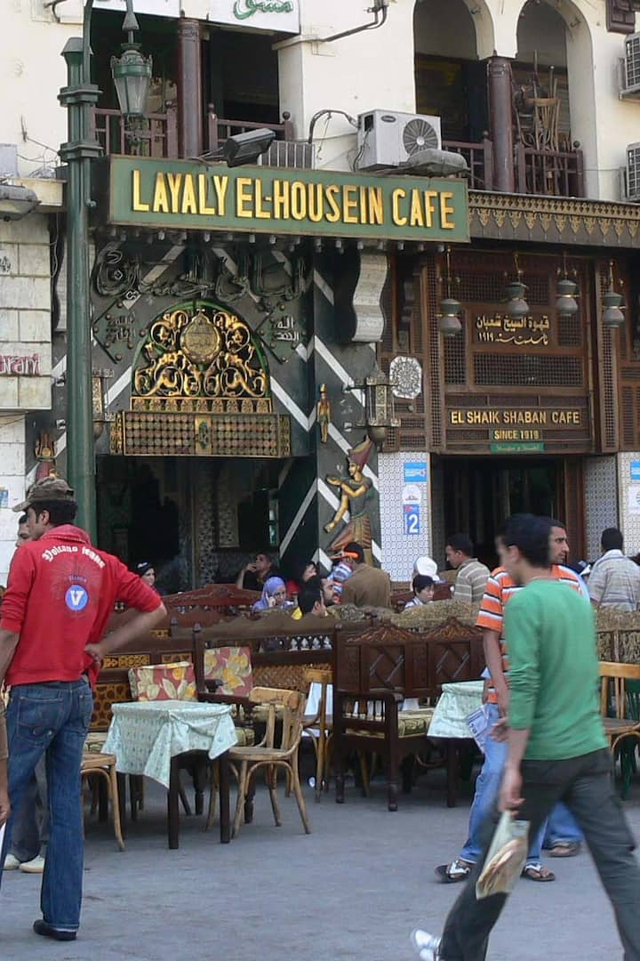 Cafes at Old Cairo - Shisha Lovers!