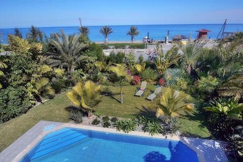 Medea Villa with private pool on the coast line