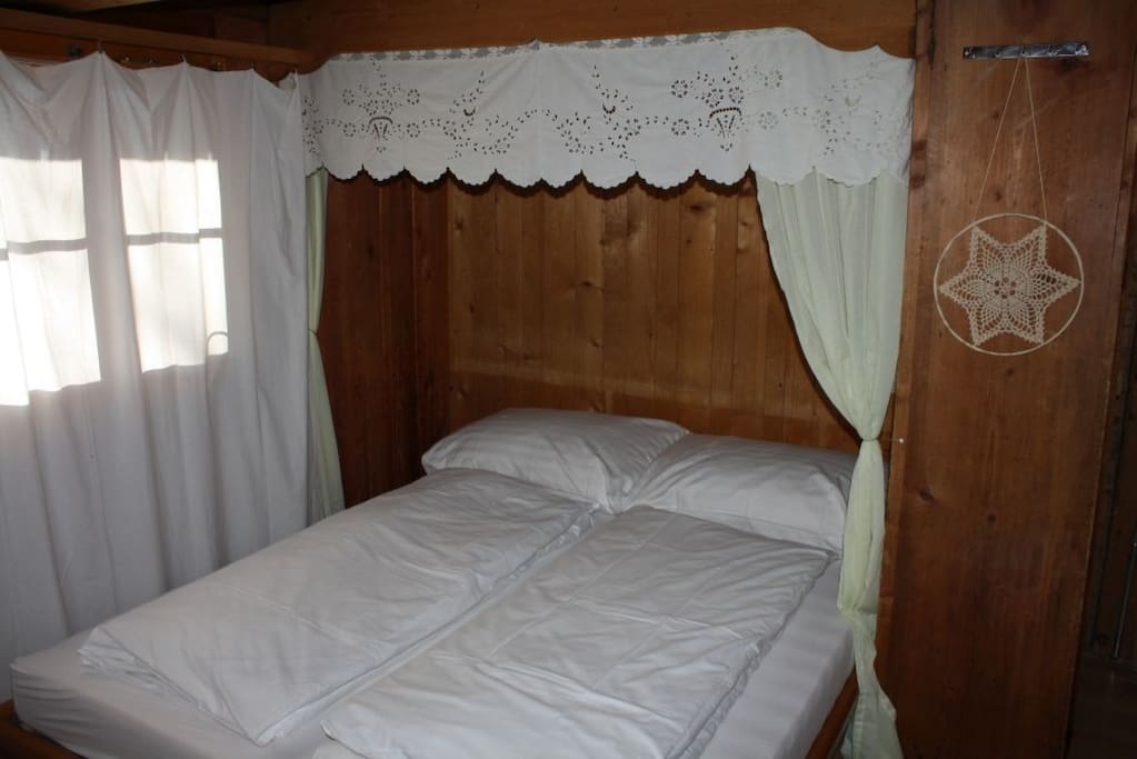 French double bed (Anker room)