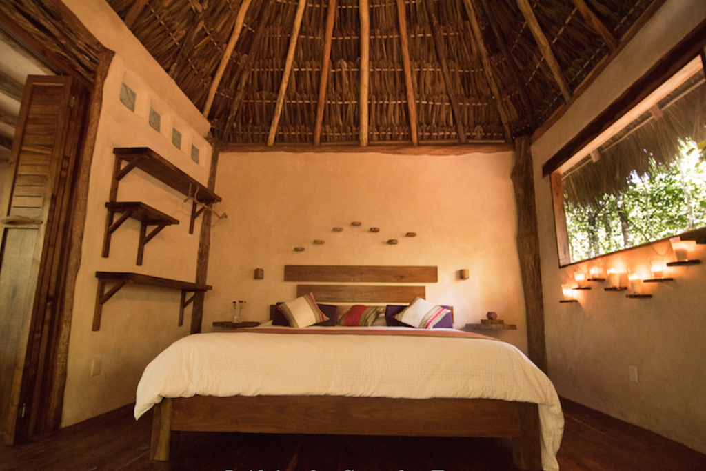 King size bed with super-comfy cushion, for you to sleep to the sounds of nature and rest as never before