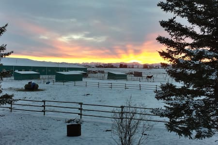 Country house with great views - Okotoks - Rumah