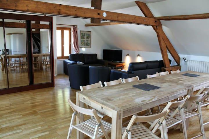 Appartement dans un domaine Balnéo - Saint-Pierre-Aigle - Lejlighed