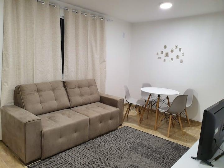 Apartamento novo segundo piso.