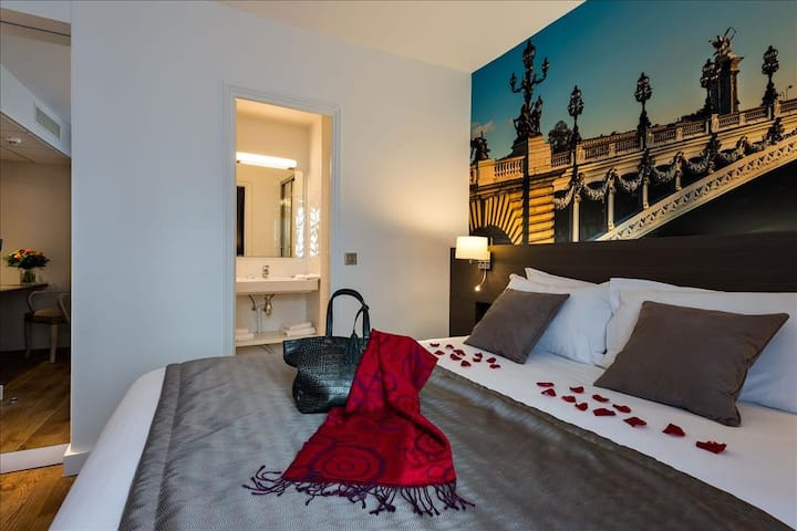 Explore Europe from this room near Gare du Nord!
