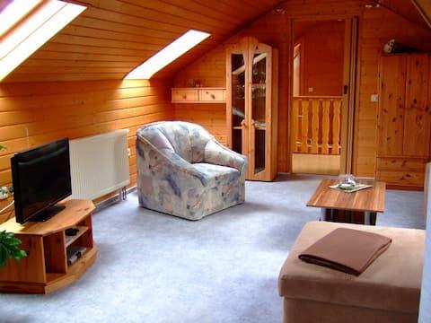 Mooi appartement aan de rand van de Haßberge.