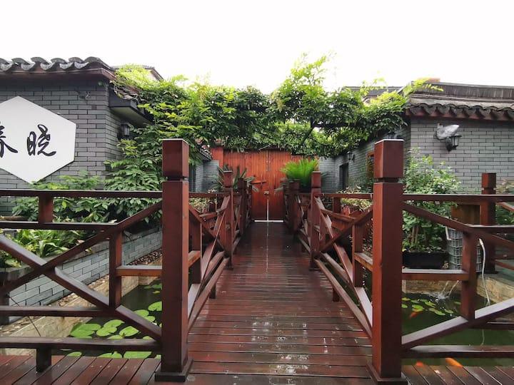 私家花园中的1间双大床房和1间大床房 【紫藤花园.民宅】乌镇范围免费接3次 近东栅西栅南栅和公园