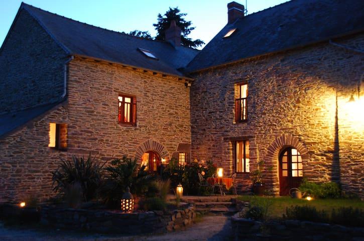 gite la bourousais - Maure-de-Bretagne - House