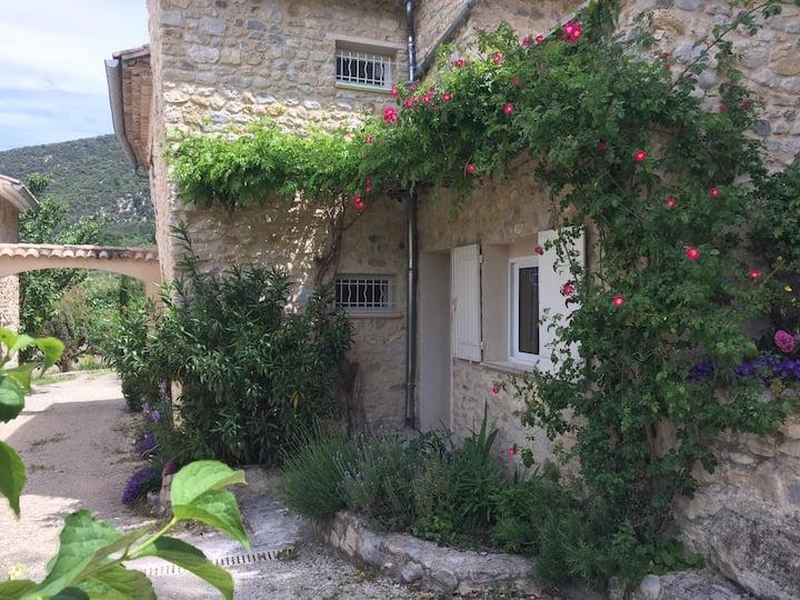 Le vieux Moulin du Rieu: MAISON + 2 STUDIOS =10prs