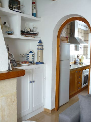 Entrance to the kitchen