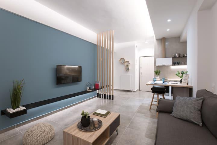 Honeycomb: Athens Cozy Lux Apartment