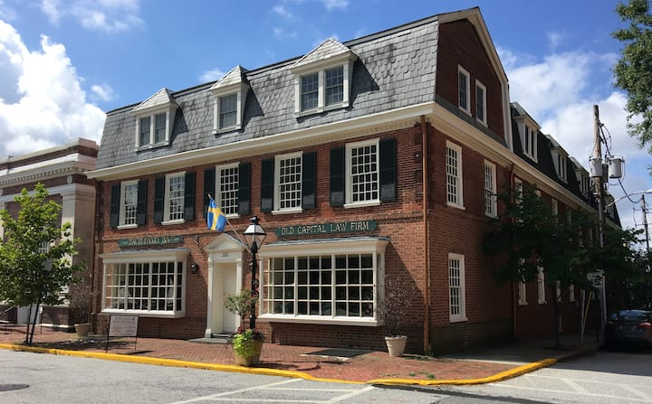 Historic David Finney Inn Apt. 4  - New Castle, DE