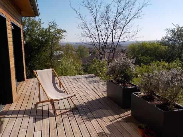 Maison bois au calme proche Toulouse - Castanet-Tolosan - บ้าน