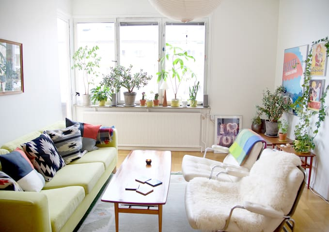 Cosy and central 2 room apartment - Stockholm - Lejlighed